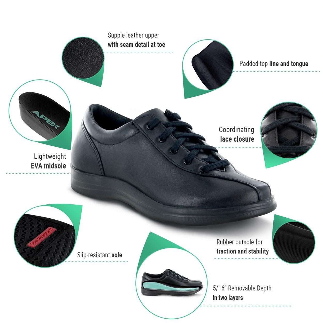Diabetic Shoes Liv   apexfoot.com