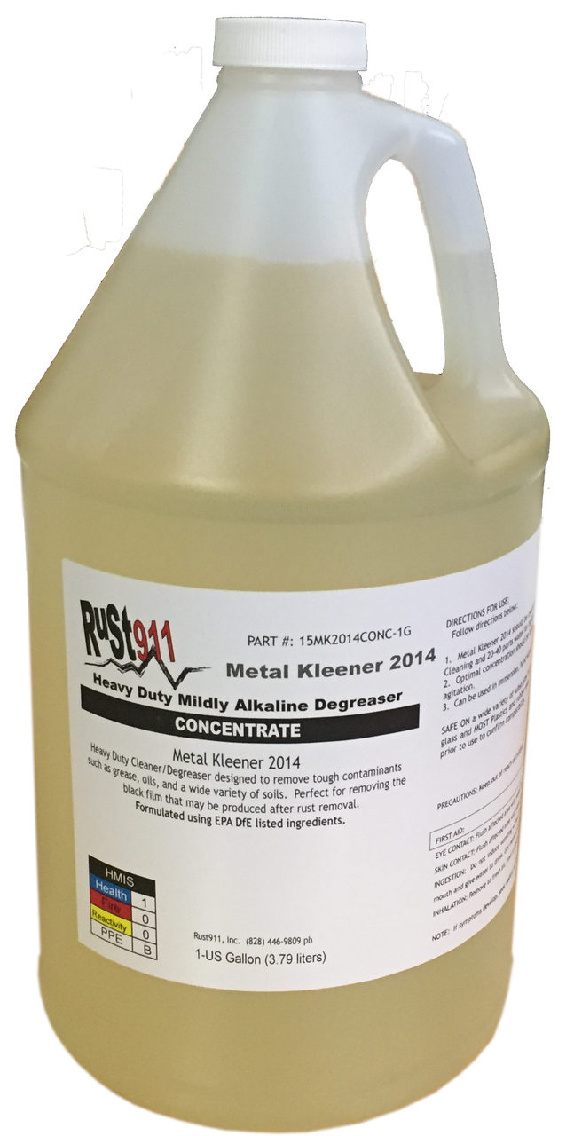 Heavy Duty Degreaser >> Metal Kleener 2014 1 Gallon Concentrate Heavy Duty Degreaser Free Shipping