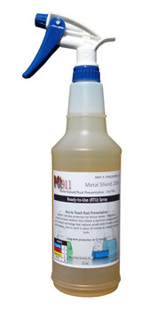 Rust911 | Metal Shield 2009 - Rust Preventative Spray: 32 oz Bottle