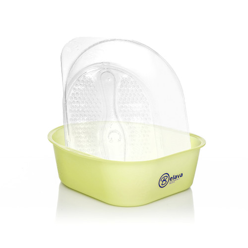 Belava Pedicure Tub in Lime Yellow