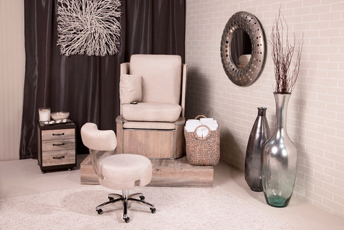 Modern Salon set-up by Belava