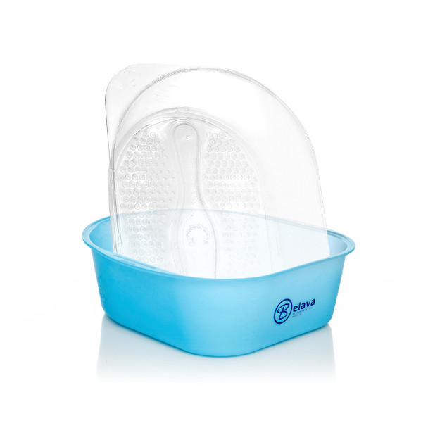 Pedicure Tub with Disposable Liners - Blue