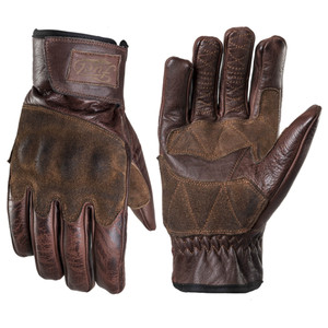 Fuel Rodeo Gloves Brown Upper and Lower