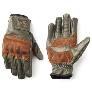 Fuel Rodeo Gloves Olive Upper and Lower