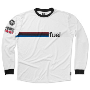 Fuel Rally Raid Jersey White Front