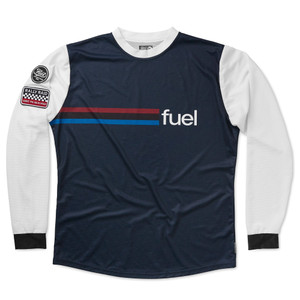Fuel Rally Raid Jersey Blue Front