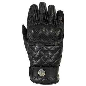 John Doe Tracker Gloves Leather Black Upper