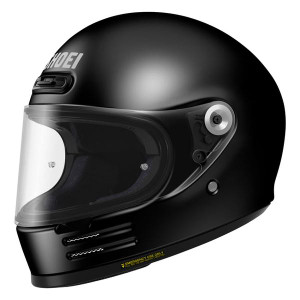 Shoei Glamster Black Front Angle