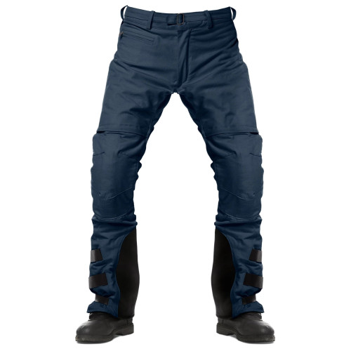 Fuel Rally Raid Pants Blue Front