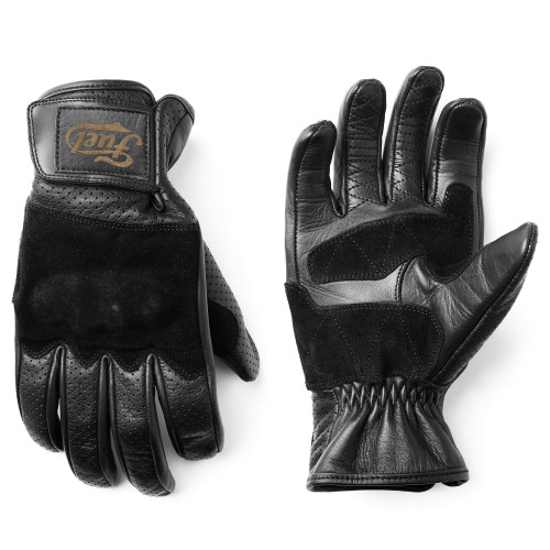 Rodeo Perforated Gloves Black