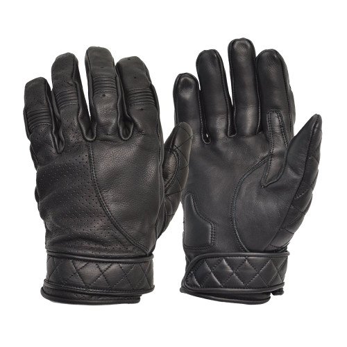 Short Bobber Gloves Black