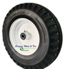 "Wheel Assembly 410350-6 (1ea) With 3"" Centered Hub and 5/8"" BB."