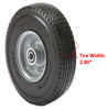 "280/250-4  (9"" x 3"") WIDE Wheel Assembly with Center Hub. See options"