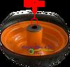 SET of 2 Wheels 13/5.00-6 Foam Fill Assembly. ZTR Scag Assembly