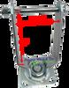 "280/250-4 (8-9"") SWIVEL Caster YOKE - NO WHEEL LOCK (BRAKE)"