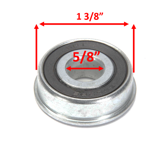 "5/8"" X 1 3/8"" Inch Semi-Precision Ball Bearings. Pack of 2"