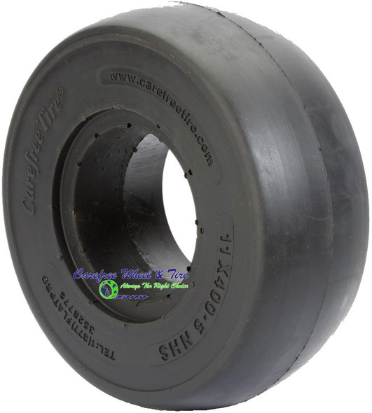 11/4.00-5 (11 x 4) Smooth Tread, Lawnmower Tire