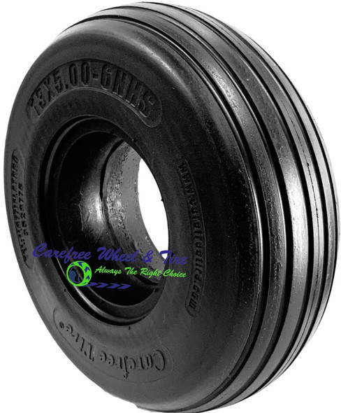 13/5.00-6 Rib Tread, Lawnmower Tire