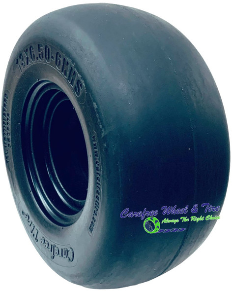 13/6.50-6 Smooth Tread, Lawnmower Tire