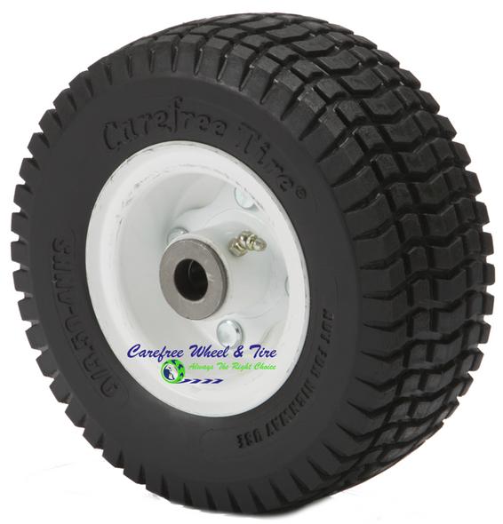 9/3.50-4 Wheel and Tire Assembly. Sulky Velke VKX,