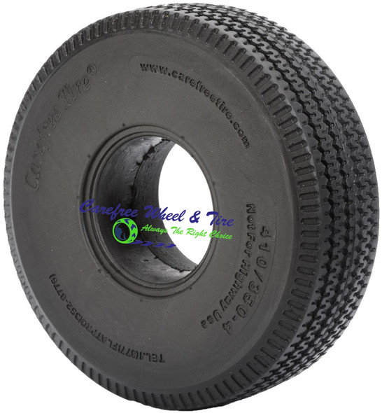 4.10/3.50-4 (10x3) Sawtooth, Handtruck/Cart Tire
