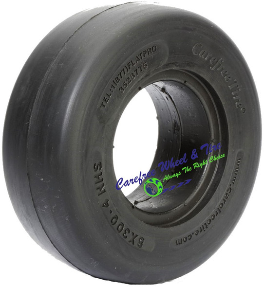 8/3.00-4 (8x3) Smooth, Lawnmower Tire