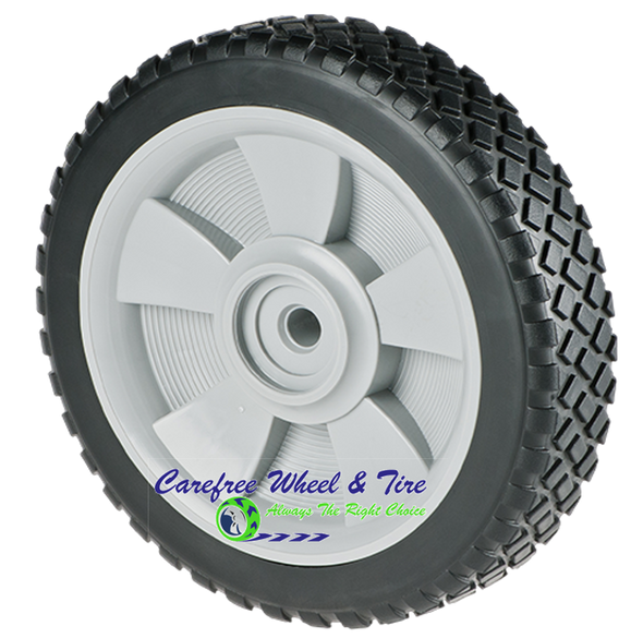 "7"" X 1.75"" Lawnmower Wheel, Brick Tread"