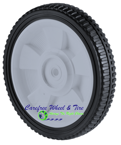 "8"" X 1.75"" Lawnmower Wheel, Brick Tread"