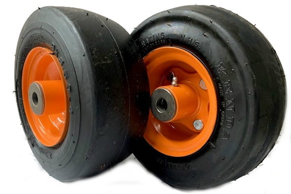 Set of 2 FOAM FILL SCAG Wheels 9x3.50-4