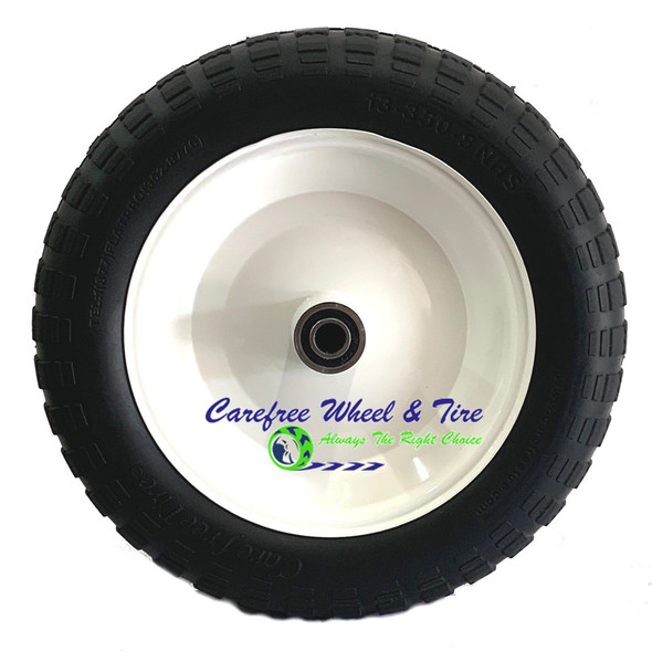 13 x 350-8 Wheelbarrow / Cart Wheel Assembly