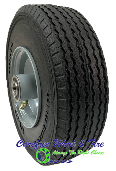 """280/250-4  (9"""" x 3"""") WIDE Wheel Assembly with Center Hub."""