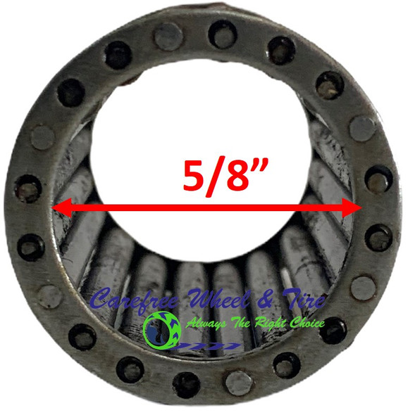 "Roller Cage Bearing 5/8"" ID x 1 3/8"" OD x 1 1/2"" W"