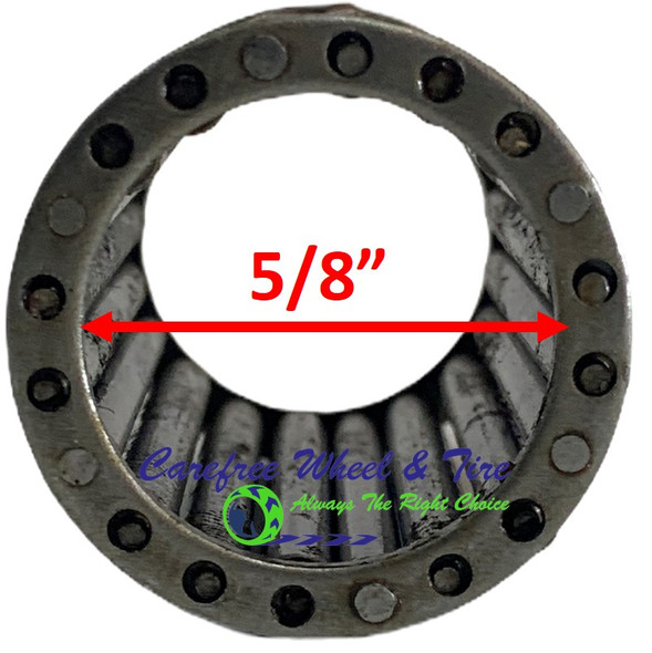 "Roller Cage Bearing 5/8"" ID x 1 3/8"" OD x 3.15"" W"