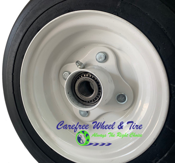"11 x 4.00-6 With 3.75 Off-Center Hub and 3/4"" Cone Roller Bearings"