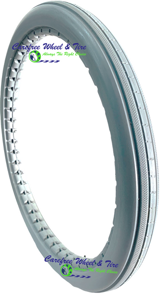 "20"" x 1.75"" Non-Marking Grey Tire"