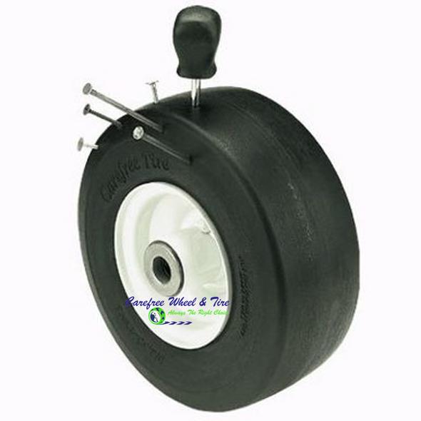 "8/3.00-4 (8"" x 3"") Wheel Assy W/ 3.25″ Centered Hub"