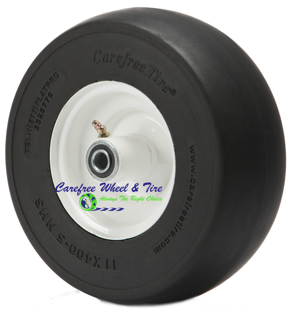 "11/4.00-5 (11"" x 4"") Wheel Assy, 5"" Centered Hub and Your Choice of Bearings"