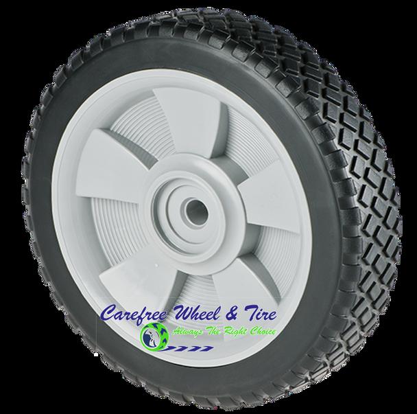 "7"" X 1.75"" Lawnmower Wheel, Brick Tread"