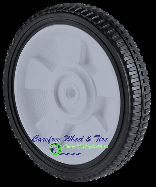 "8"" X 1.75"" Lawnmower Wheel, Brick Tread"