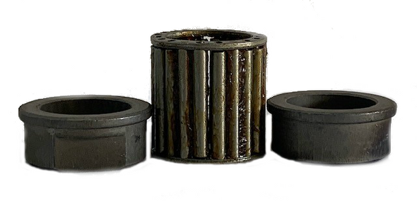 1 Pack of 2 HIGH PROFILE Bushings with Roller Bearing. 1 inch Inside diameter