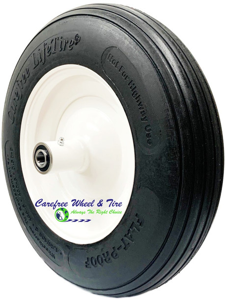 """14"""" x 3"""" (4.00-8)  Wheelbarrow Tire & Wheel Assembly"""