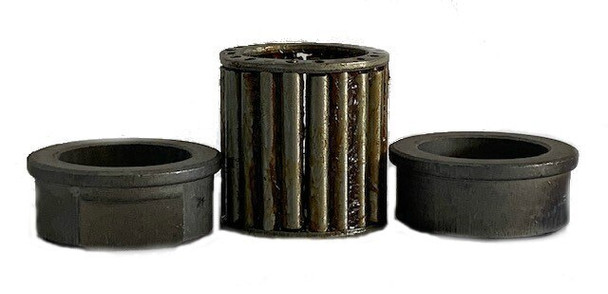 """Pack of 2 Bushings with LOW PROFILE  Roller Bearing. 3/4"""" ID"""