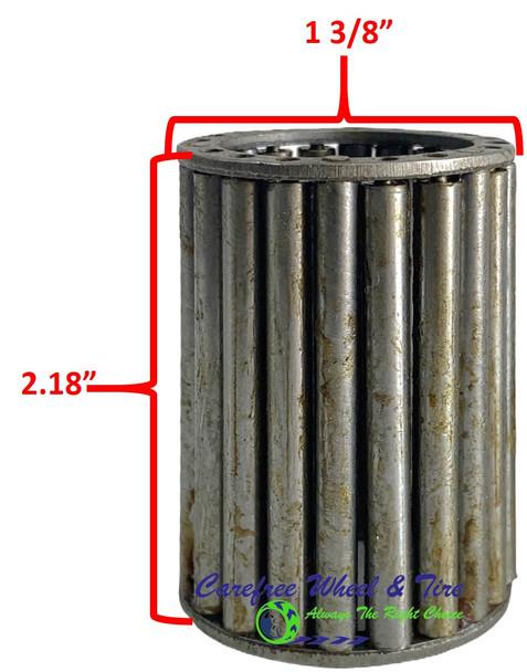 "Roller Cage Bearing 1"" ID x 1 3/8"" OD x 2.18"" W"
