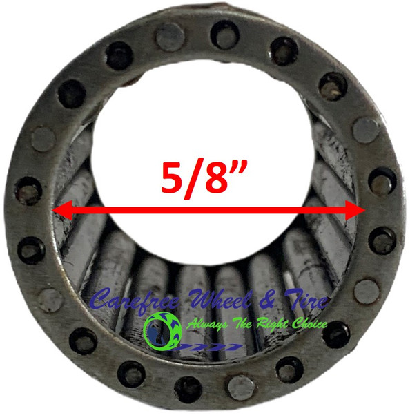 "Roller Cage Bearing 5/8"" ID x 1 3/8"" OD x 3.15"" W"