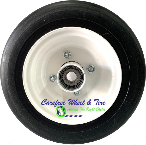 """11 x 4.00-6 With 3.75 Off-Center Hub and 3/4"""" Cone Roller Bearings"""