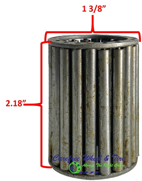 "Roller Cage Bearing 3/4"" ID x 1 3/8"" OD x 2.18"" W"