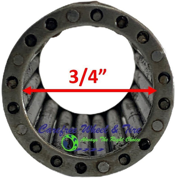"Roller Cage Bearing 3/4"" ID x 1 3/8"" OD x 3.15"" W"