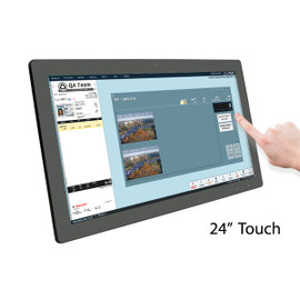 "24"" Base TOUCH Monitor (non-kiosk only)"