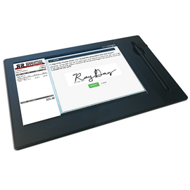"10"" High Res Ticket Disclaimer Signature Pad"