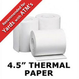"4.5"" Thermal Paper Rolls for ATM's"